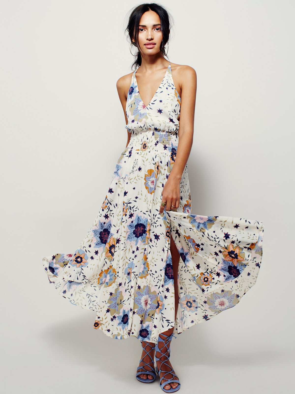 Marigold及踝长裙