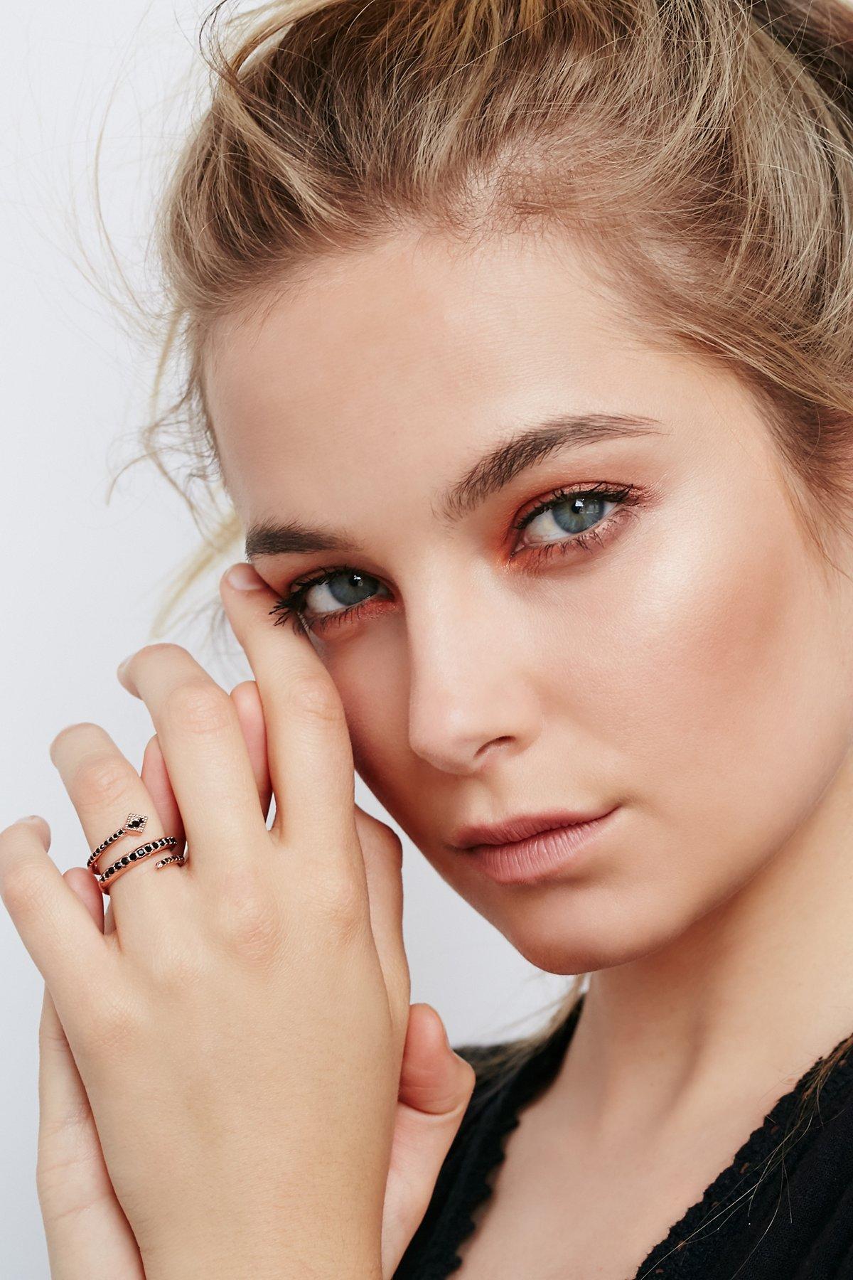 Diamond Kite Coil Ring