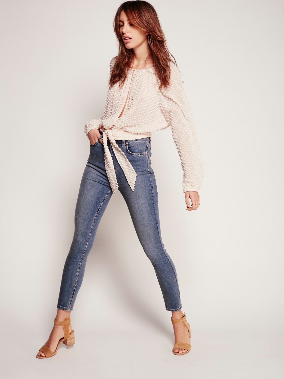 Extreme High Rise Skinny