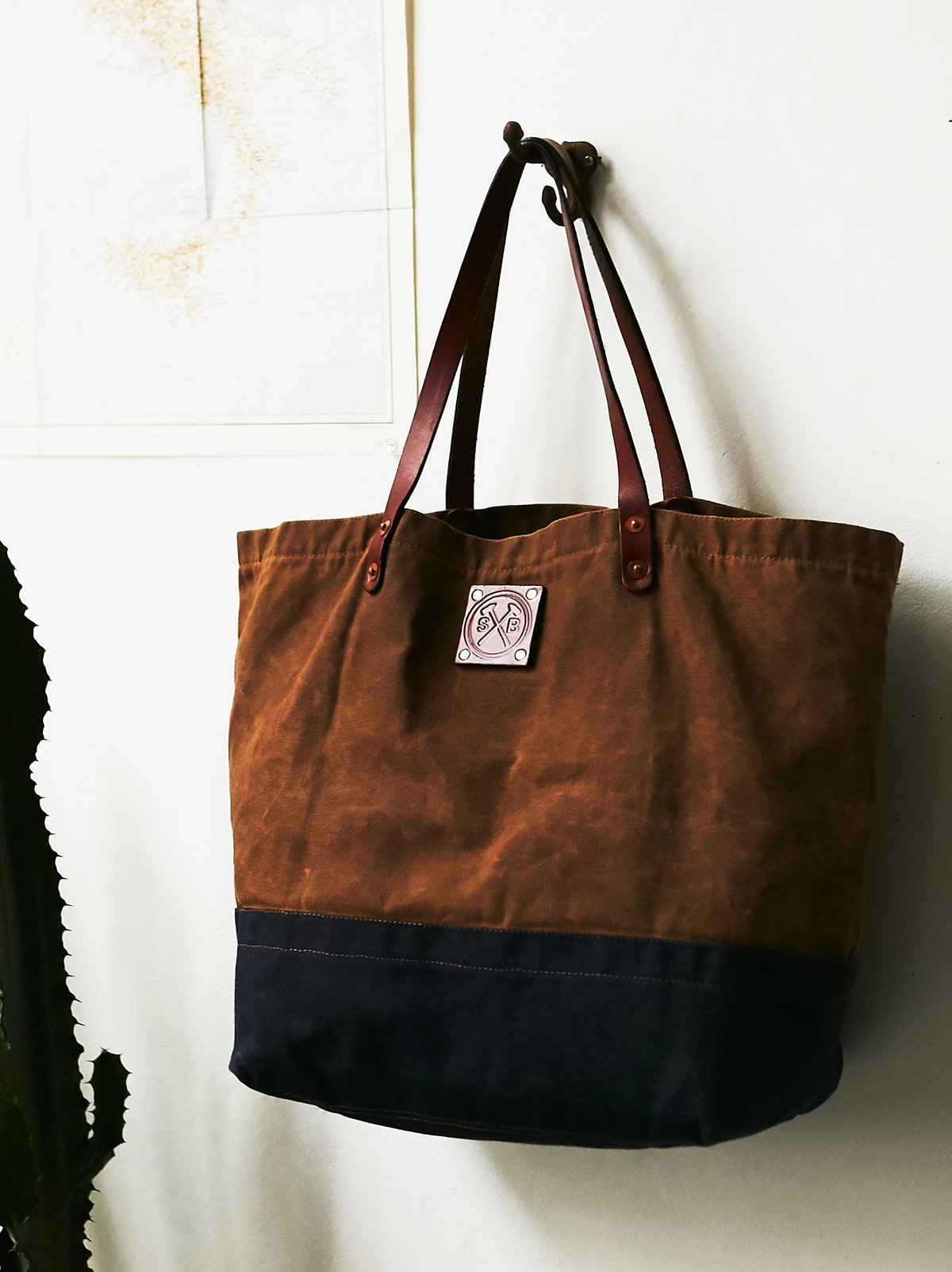 Craft Waxed Tote