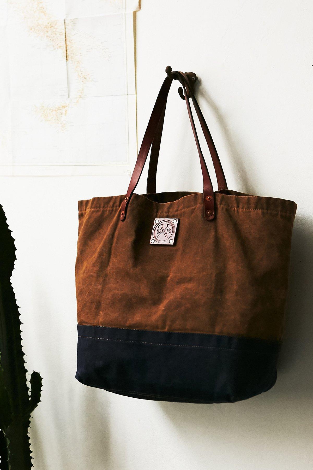 Craft蜡面手提包
