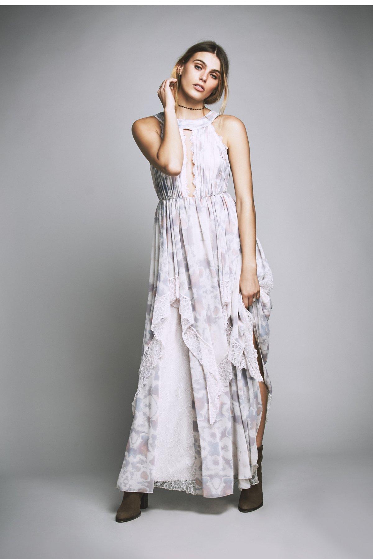 Ivory Tower连衣长裙