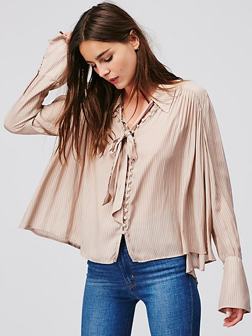 Product Image: Striped Modern Muse Blouse