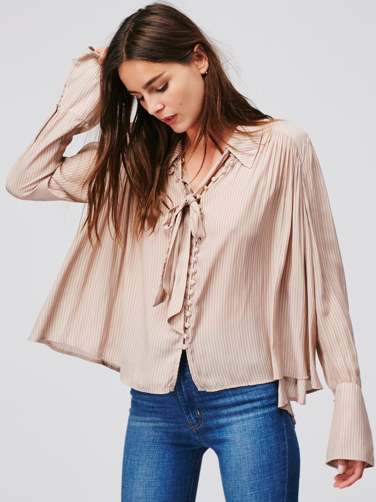Striped Modern Muse Blouse