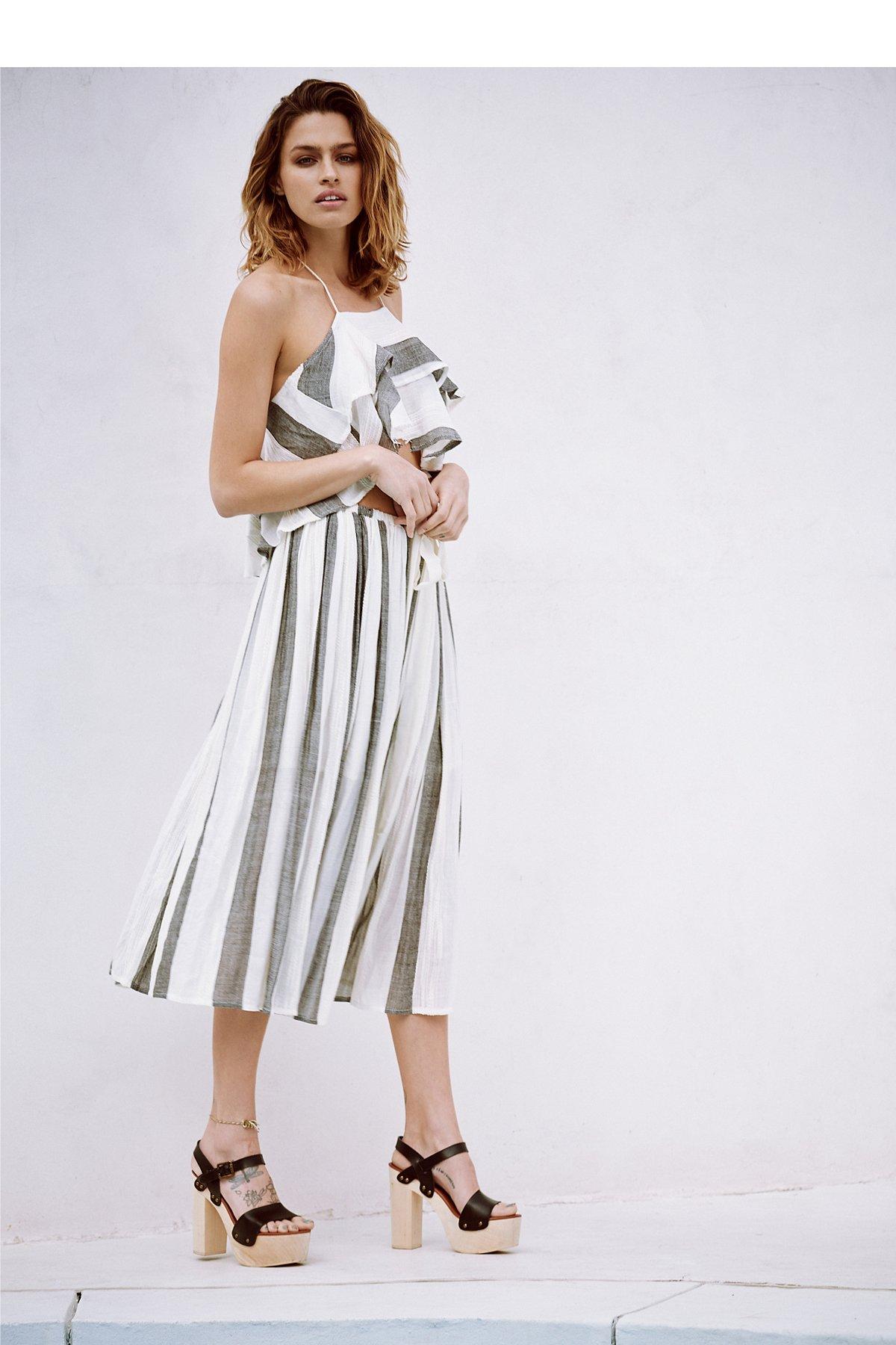 Lily条纹套装