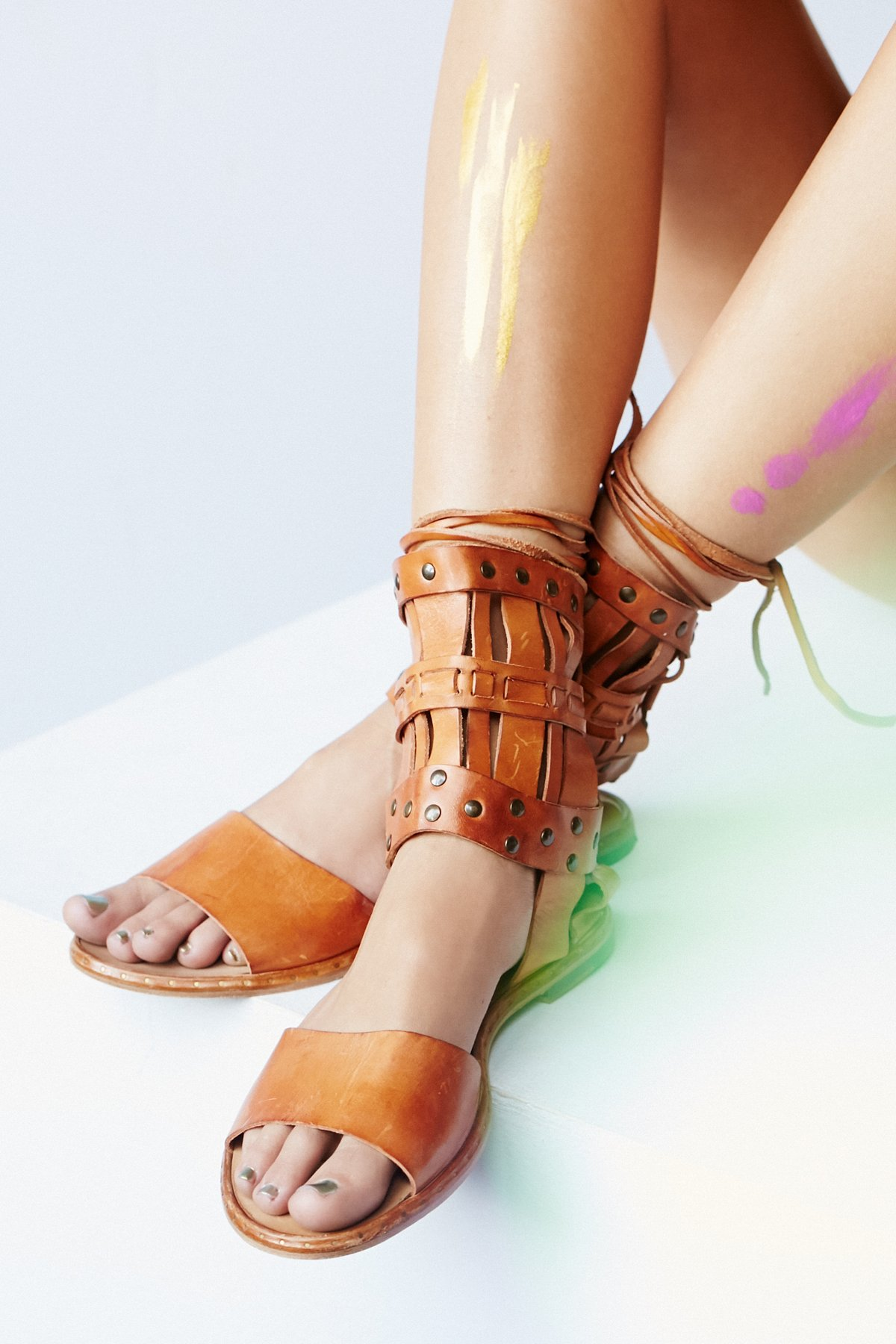 Duvall Cage Sandal