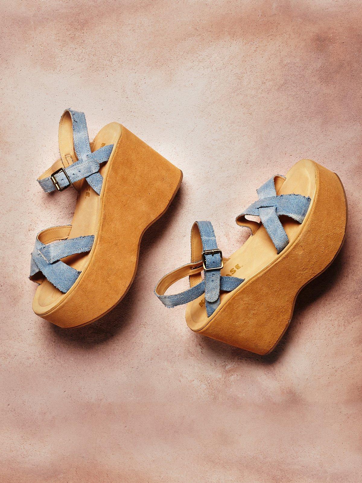 Heights防水台凉鞋