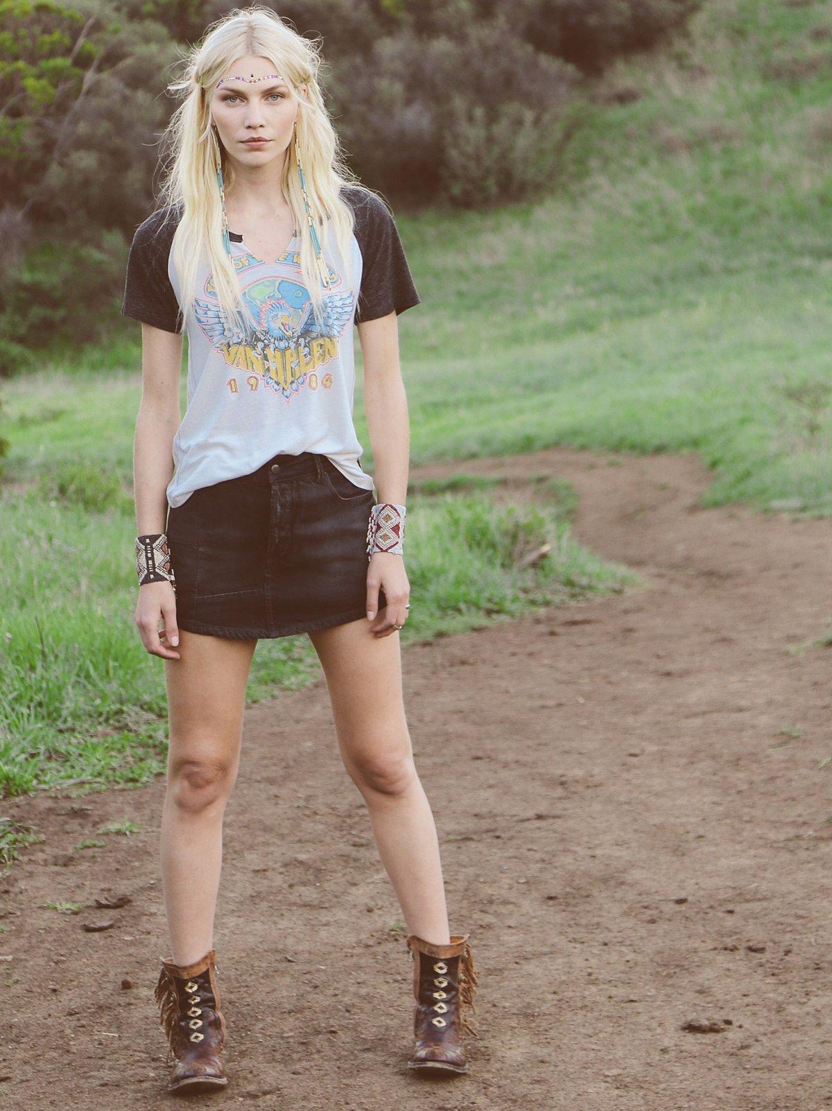 Mia Denim Skirt