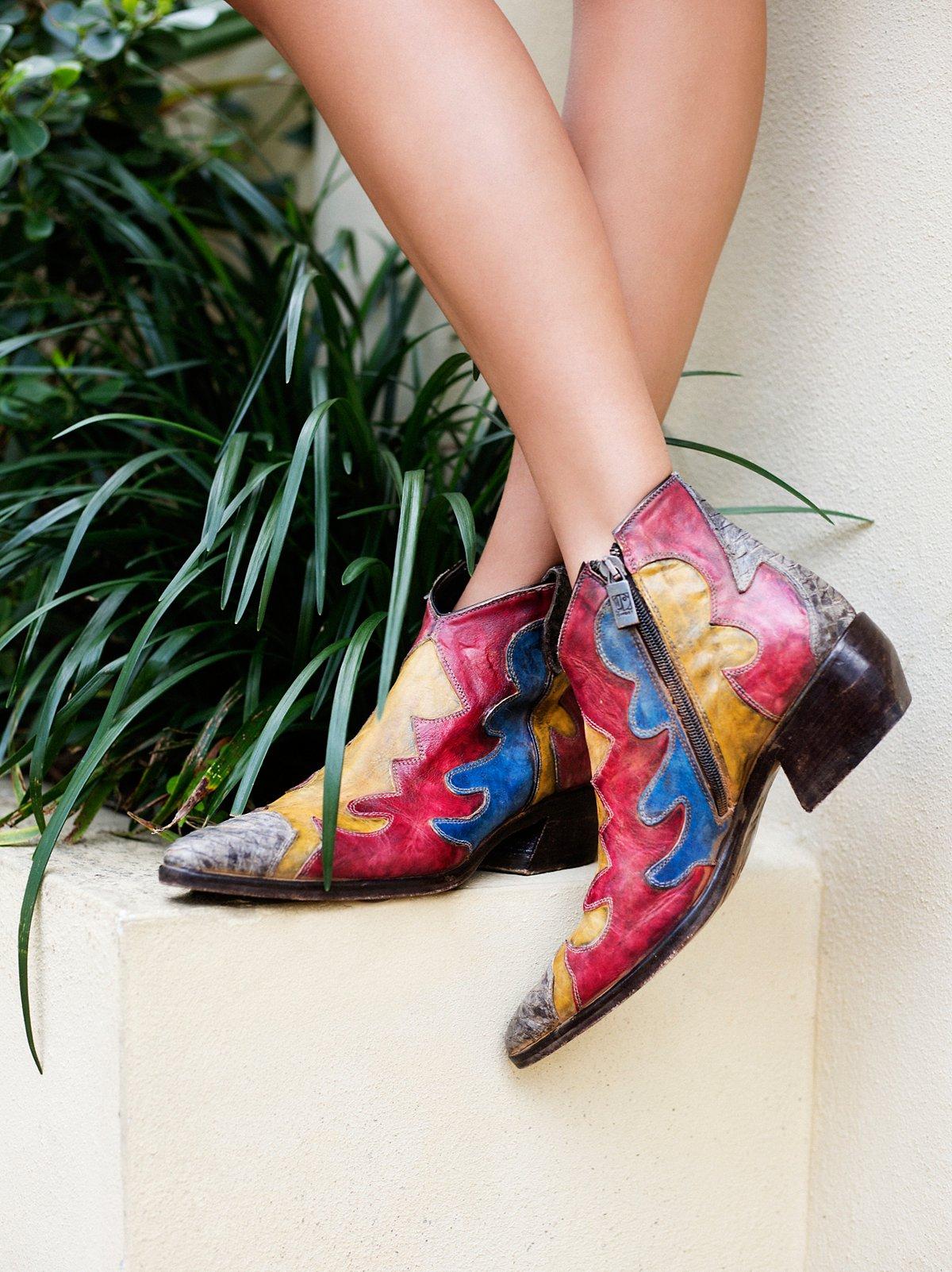 Painted Bird Western Boot