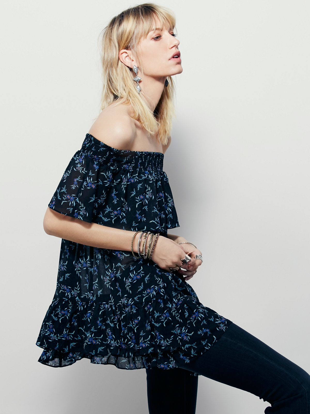 In The Light Printed Off The Shoulder