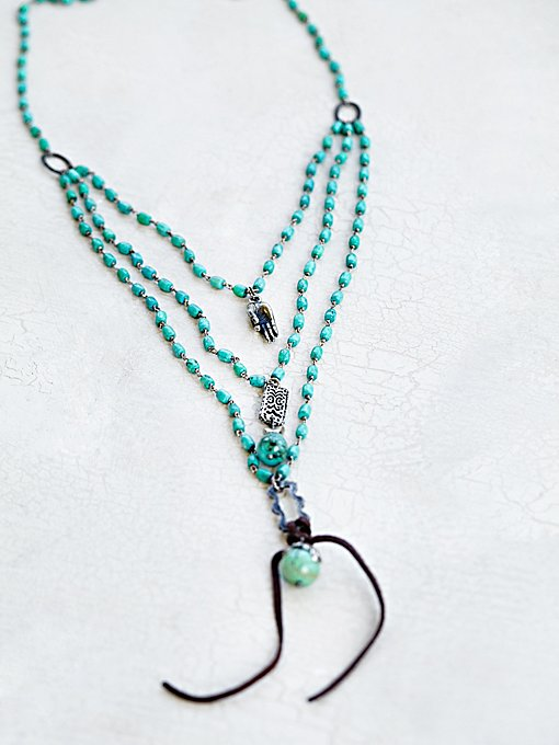 Product Image: Blossums Turquoise Necklace