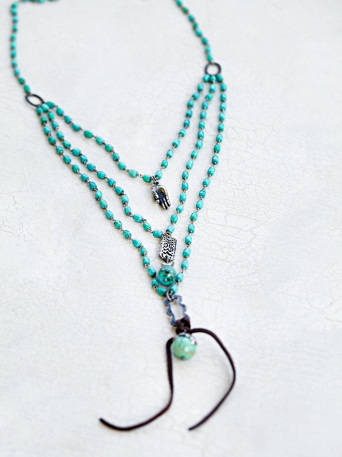 Blossums Turquoise Necklace