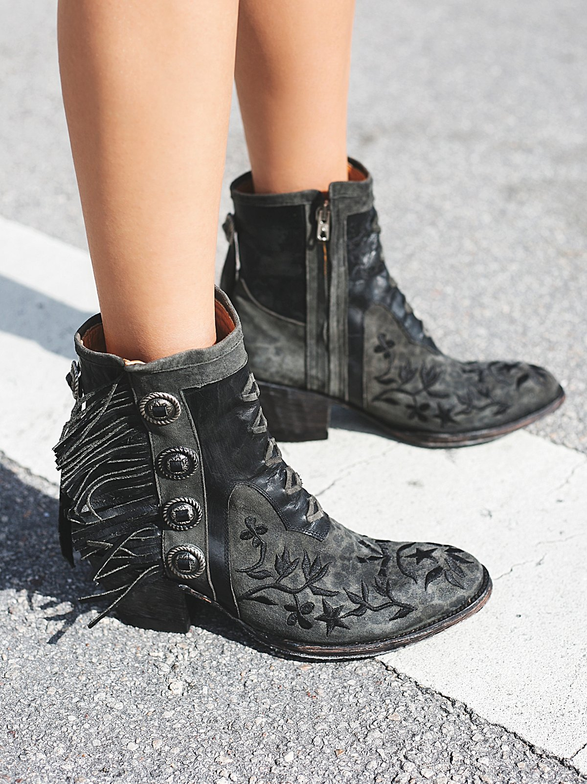 King Ranch Ankle Boot