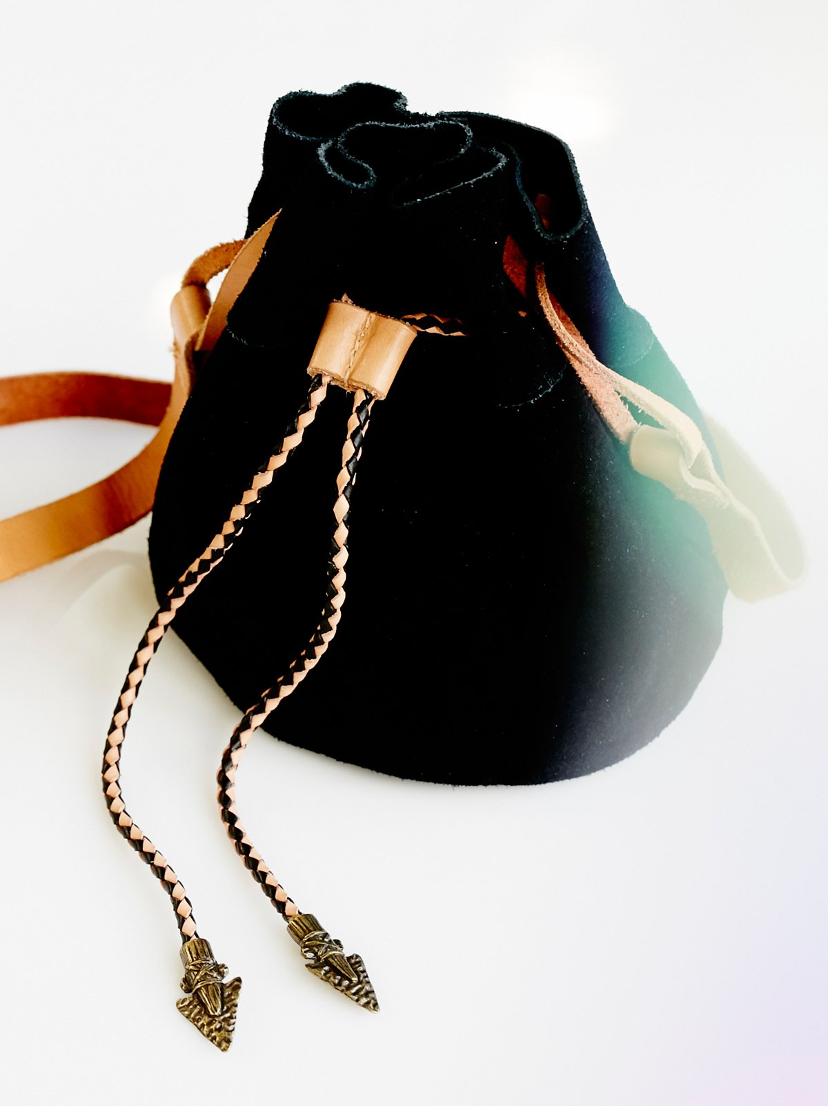 Easy Rider Suede Bucket Bag