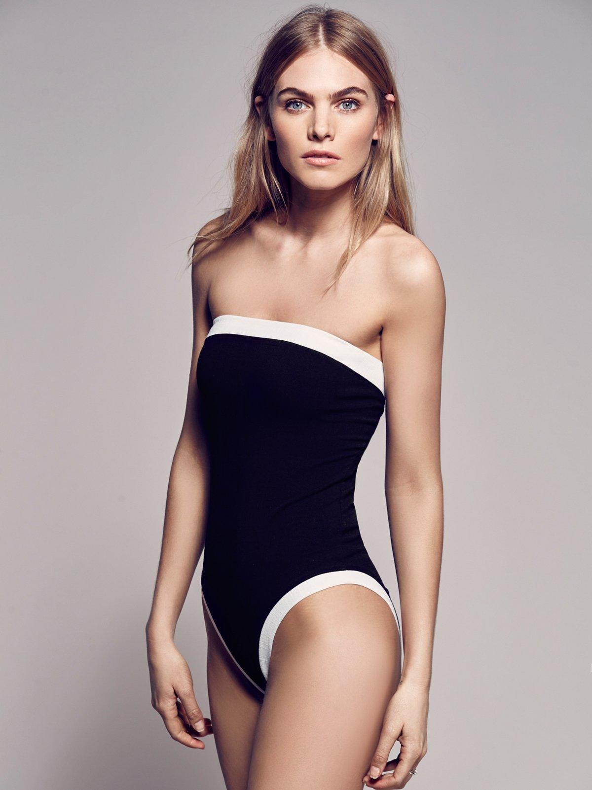 Retro Swim Bodysuit