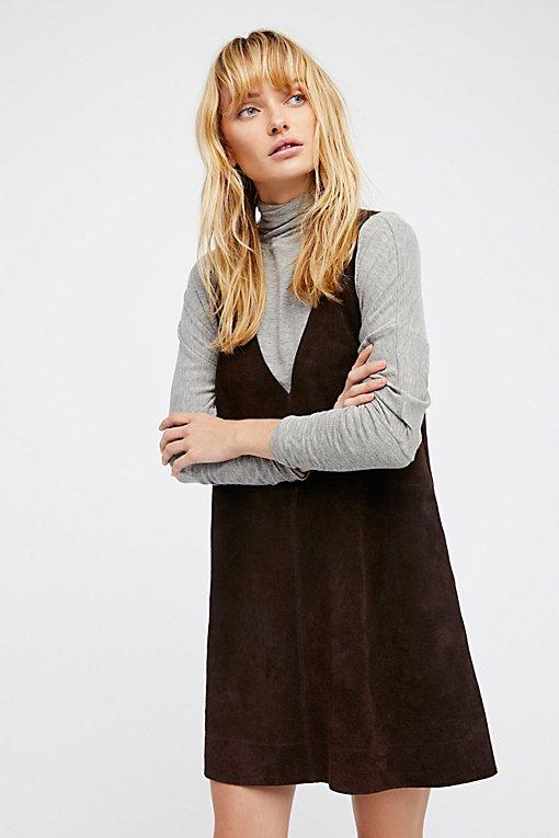 Product Image: Retro Love Suede Dress