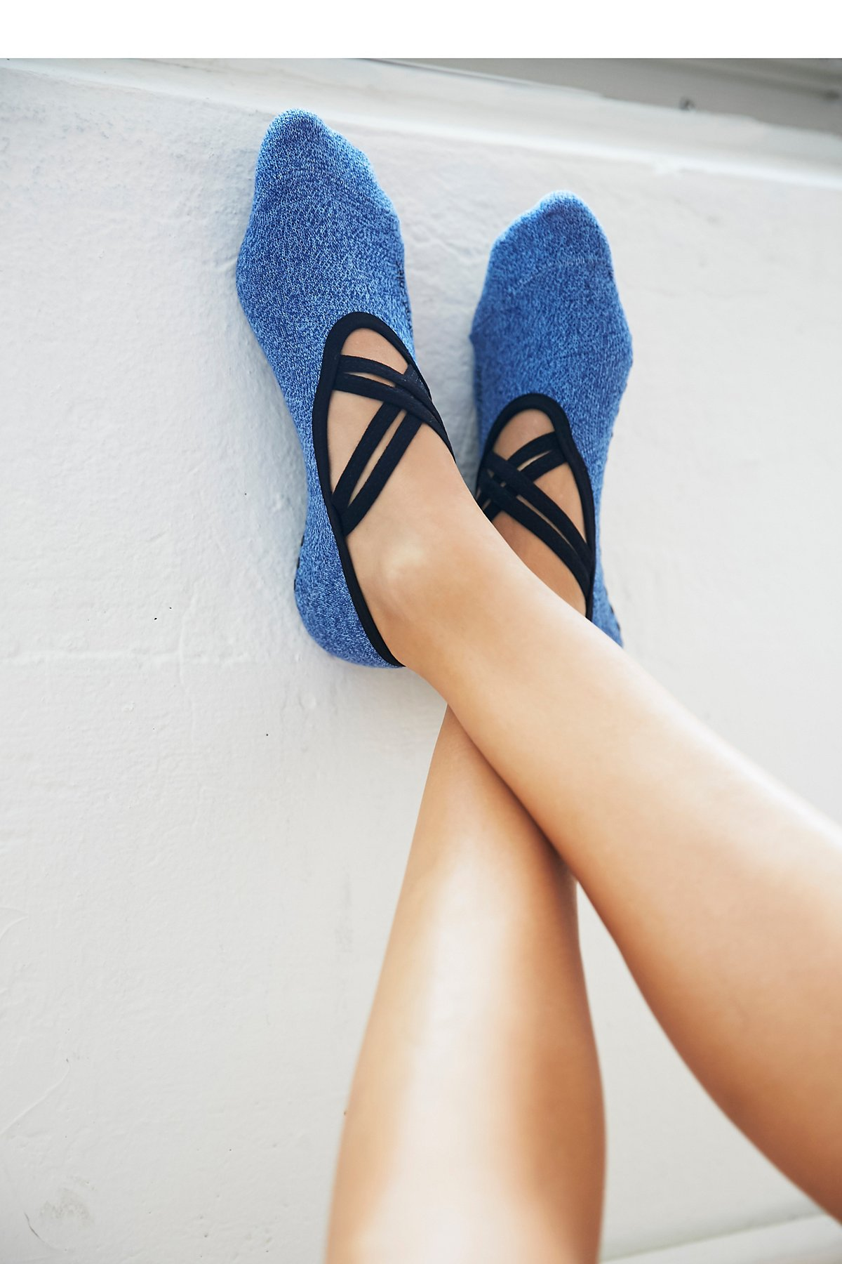 Criss Cross Ballet Barre Yoga Sock