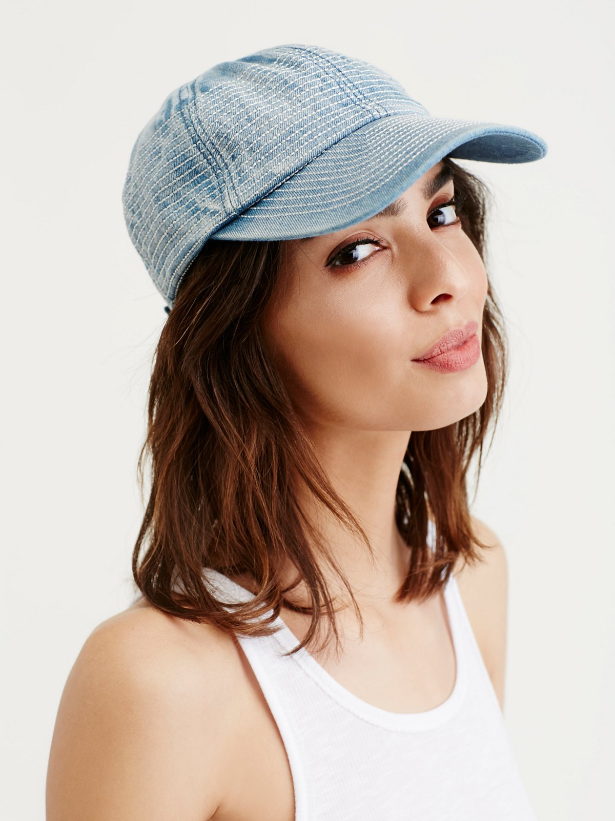 Grand Slam Denim Baseball Hat