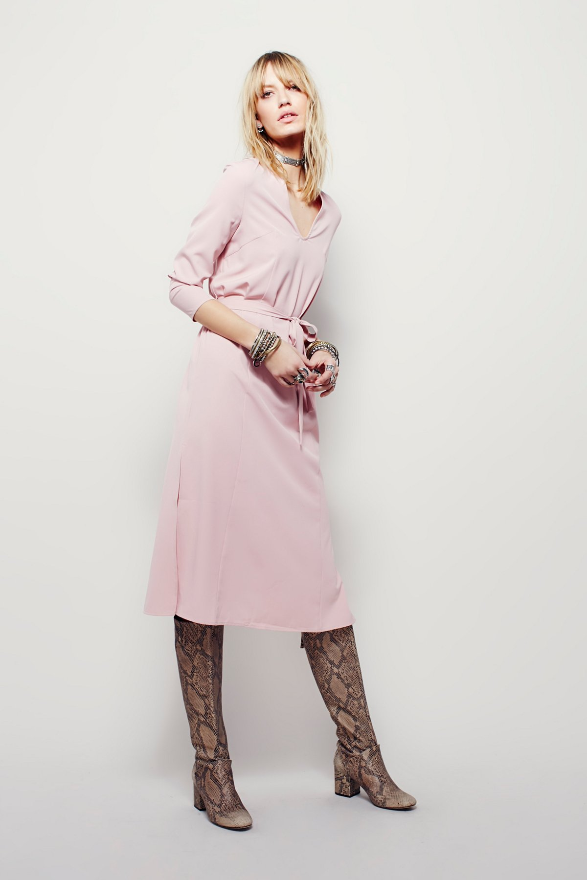 Solid Melody Dress