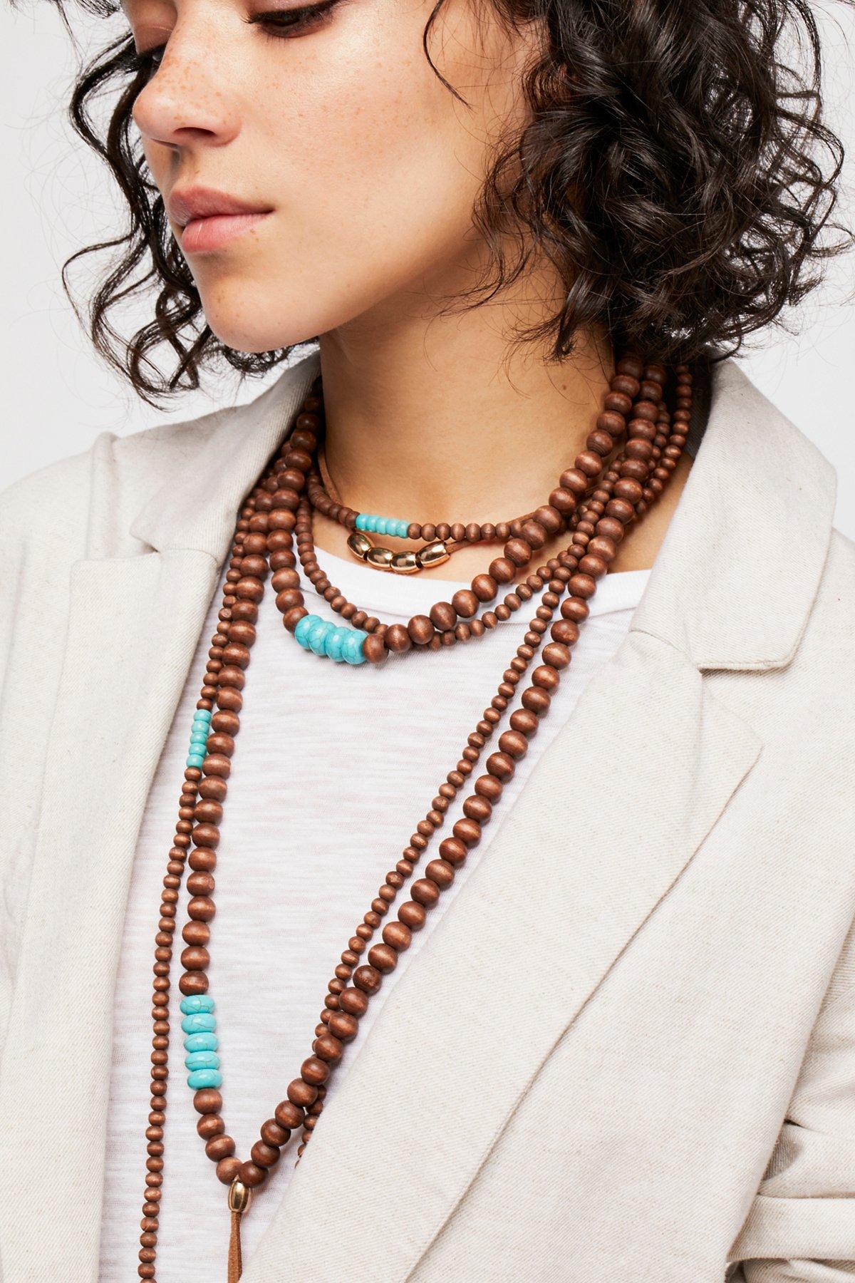 Tibetan Sunrise Necklace