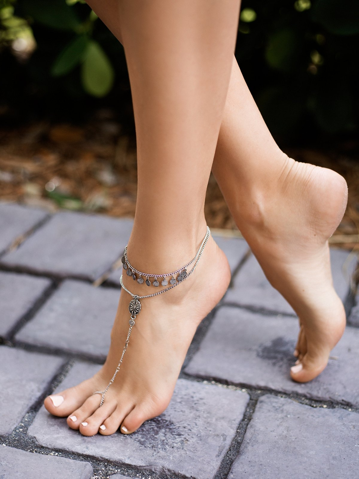 Fading Rays Anklet Set