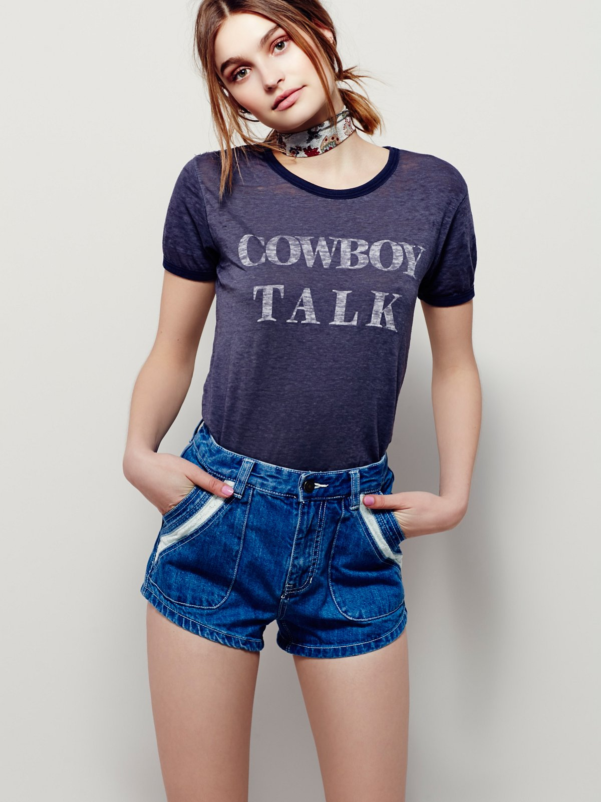 We The Free Cowboy Talk Tee