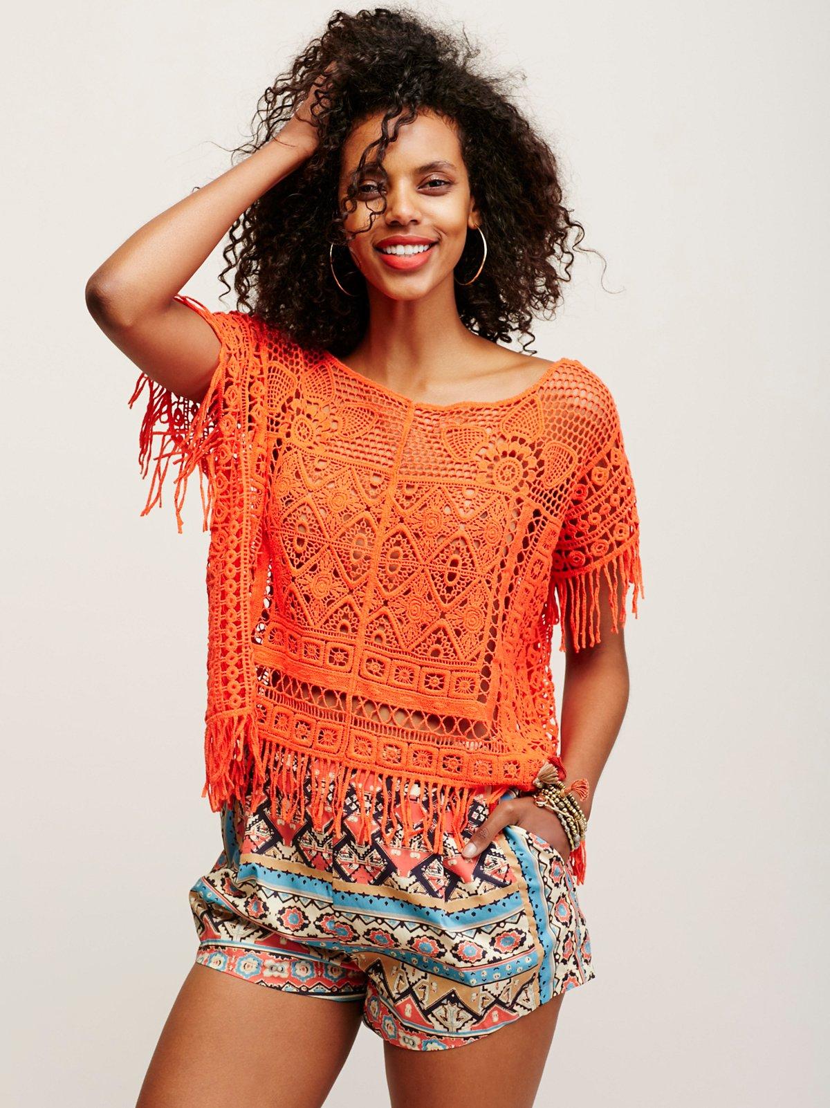 Georgia Crochet Poncho