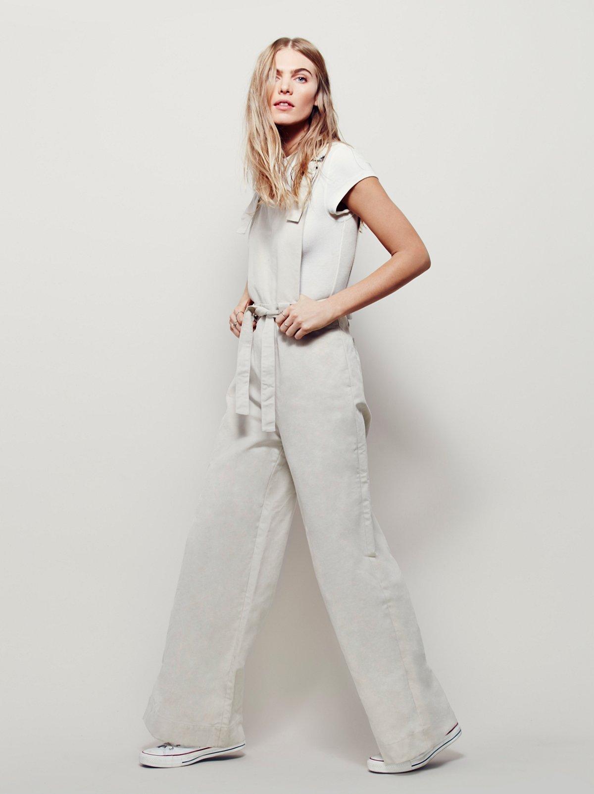 70年代风格背带裤