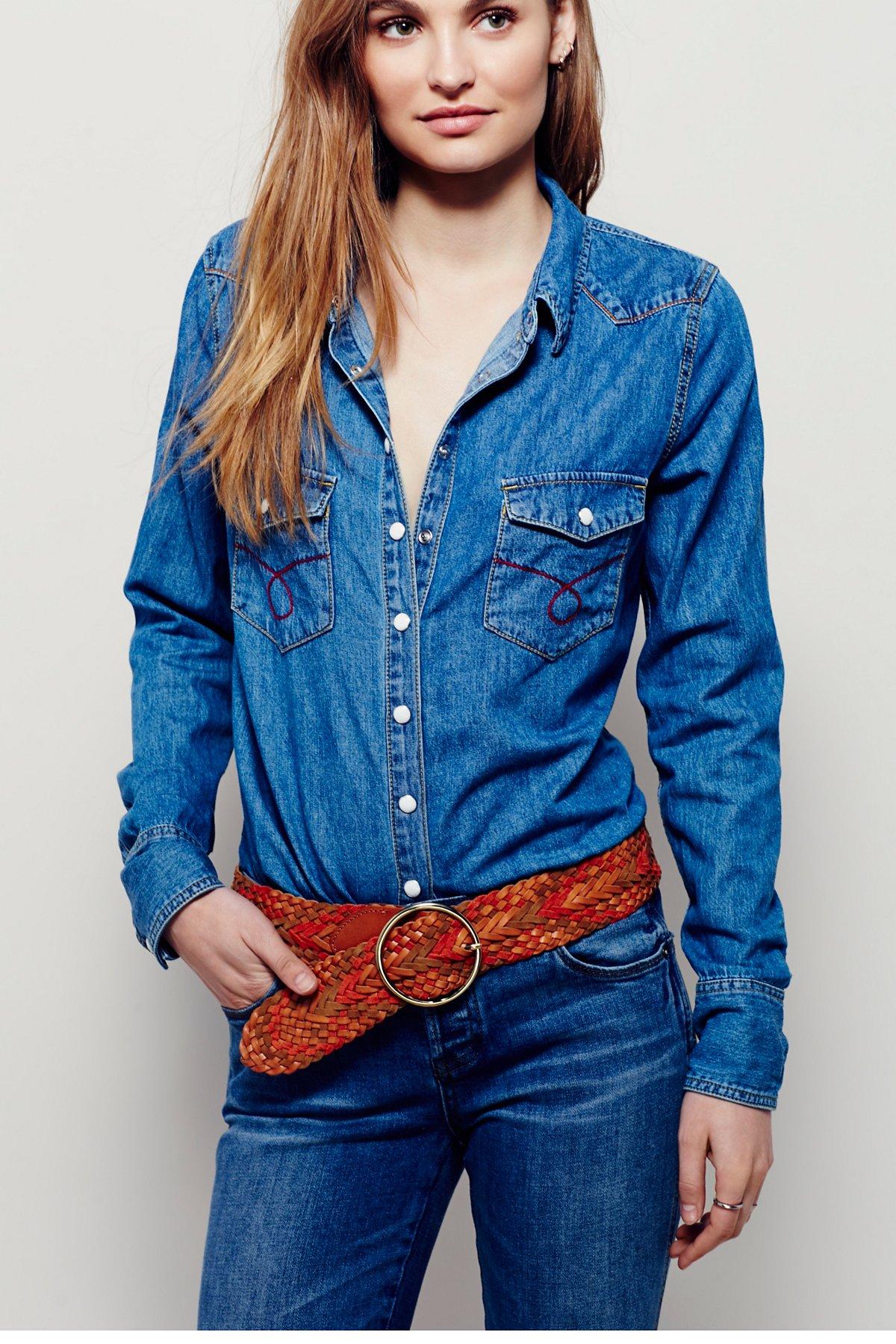Donna Braided Belt