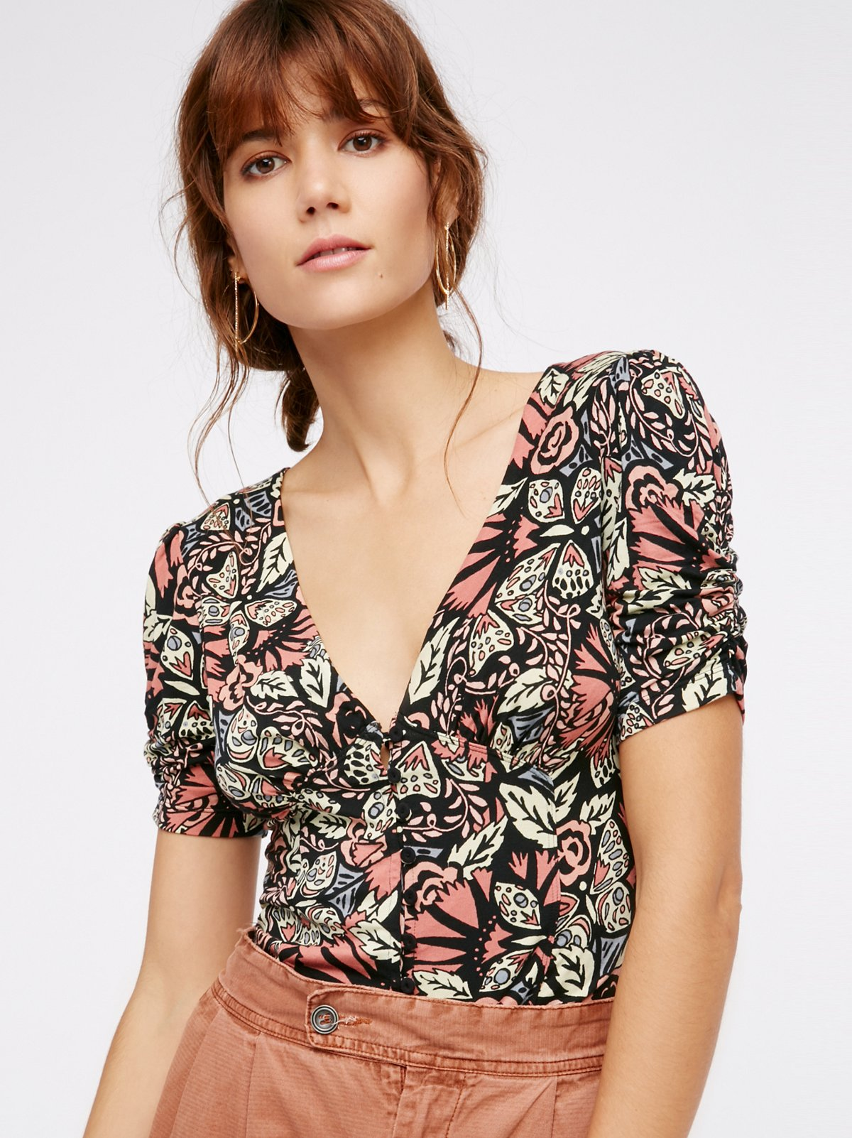 Hollywood Printed Top