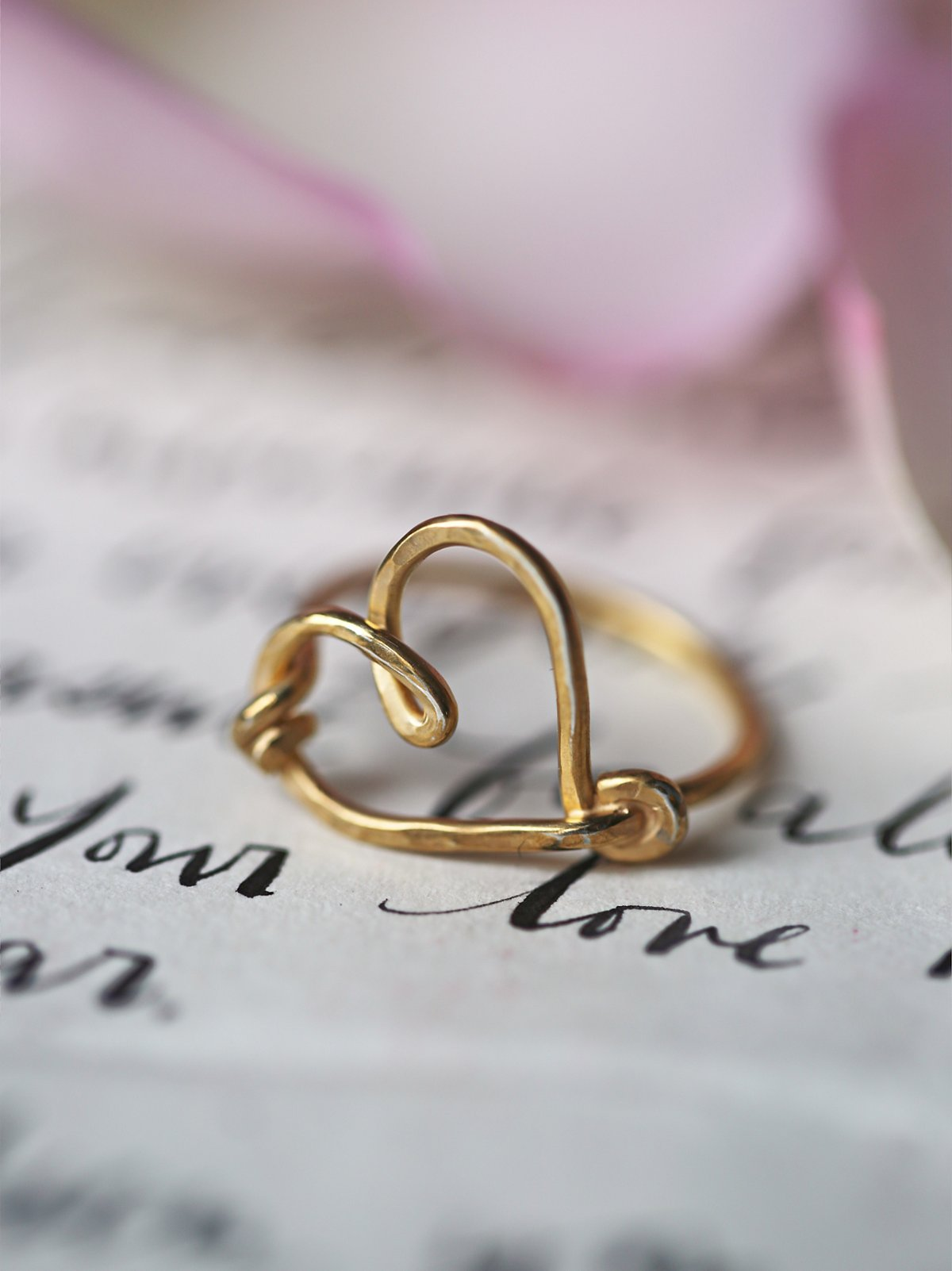 Love Note Ring