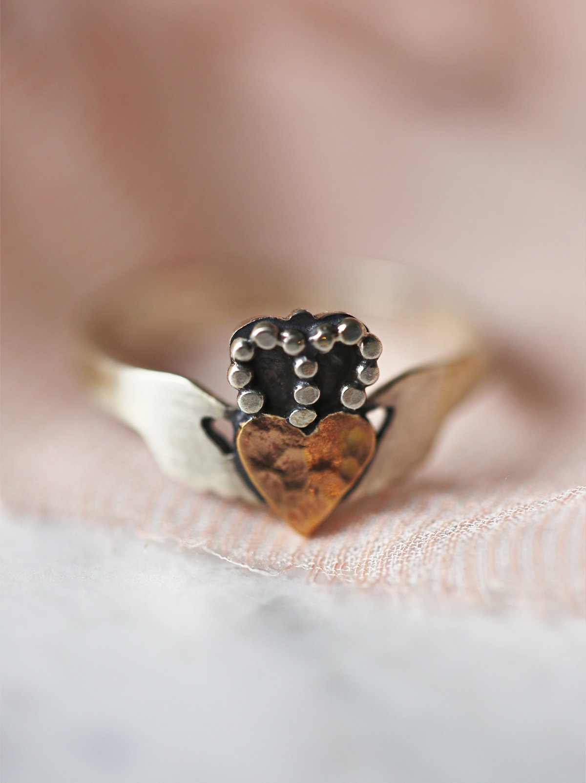 Modern Claddagh Ring