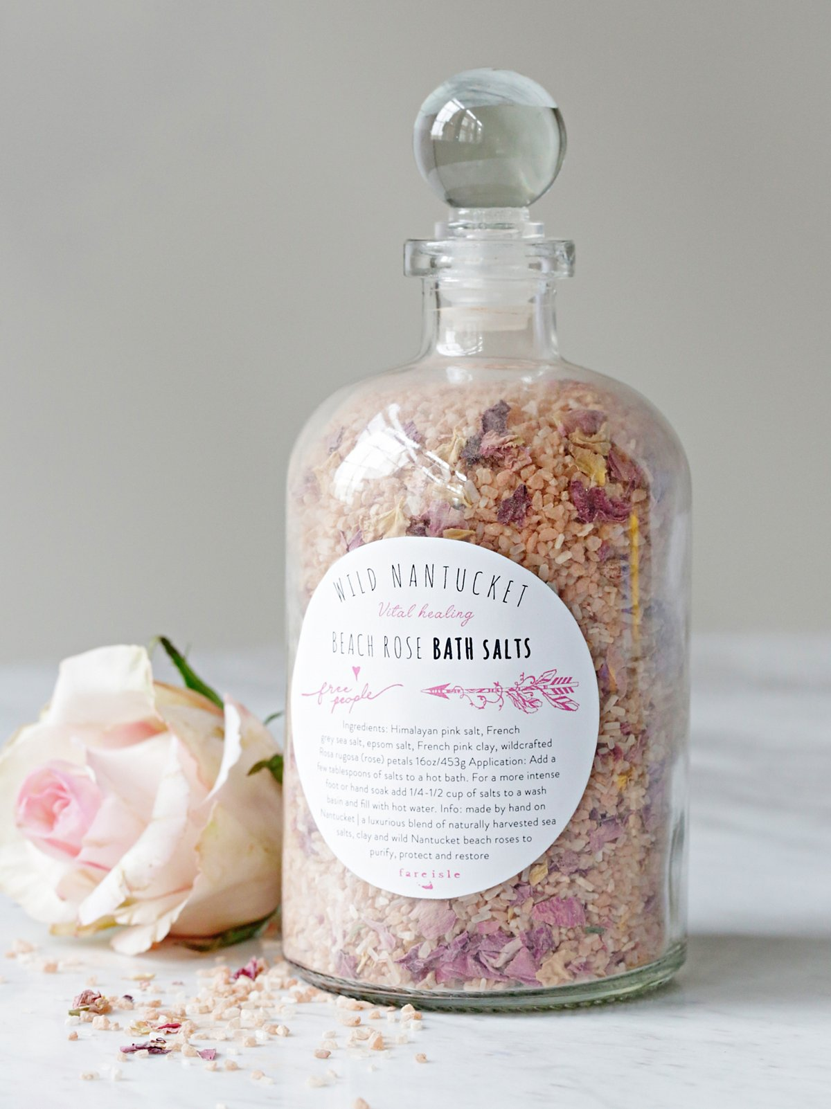 Vital Herbal Bath Salts