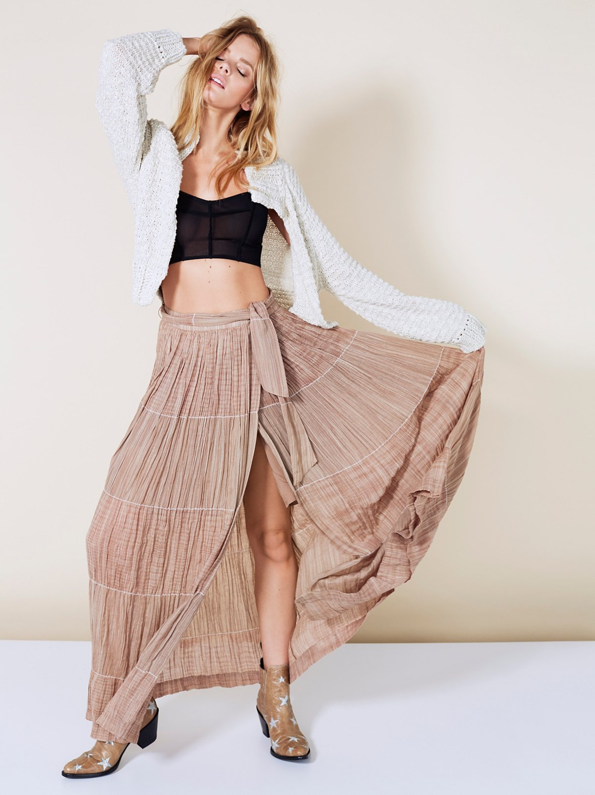 Wild Winds Maxi Skirt
