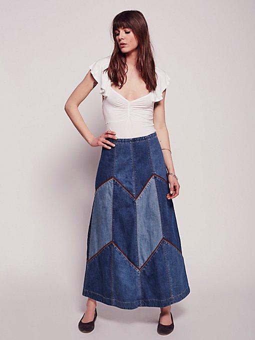 Product Image: Bliss Made Denim Skirt