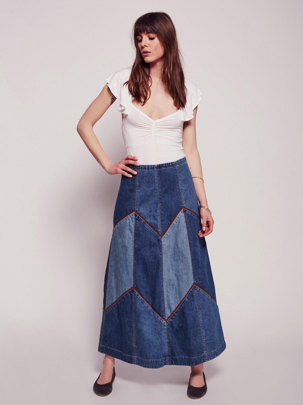 Bliss Made Denim Skirt