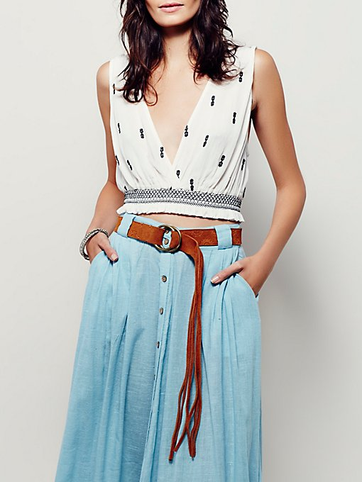 Product Image: Summer of Love Suede Belt