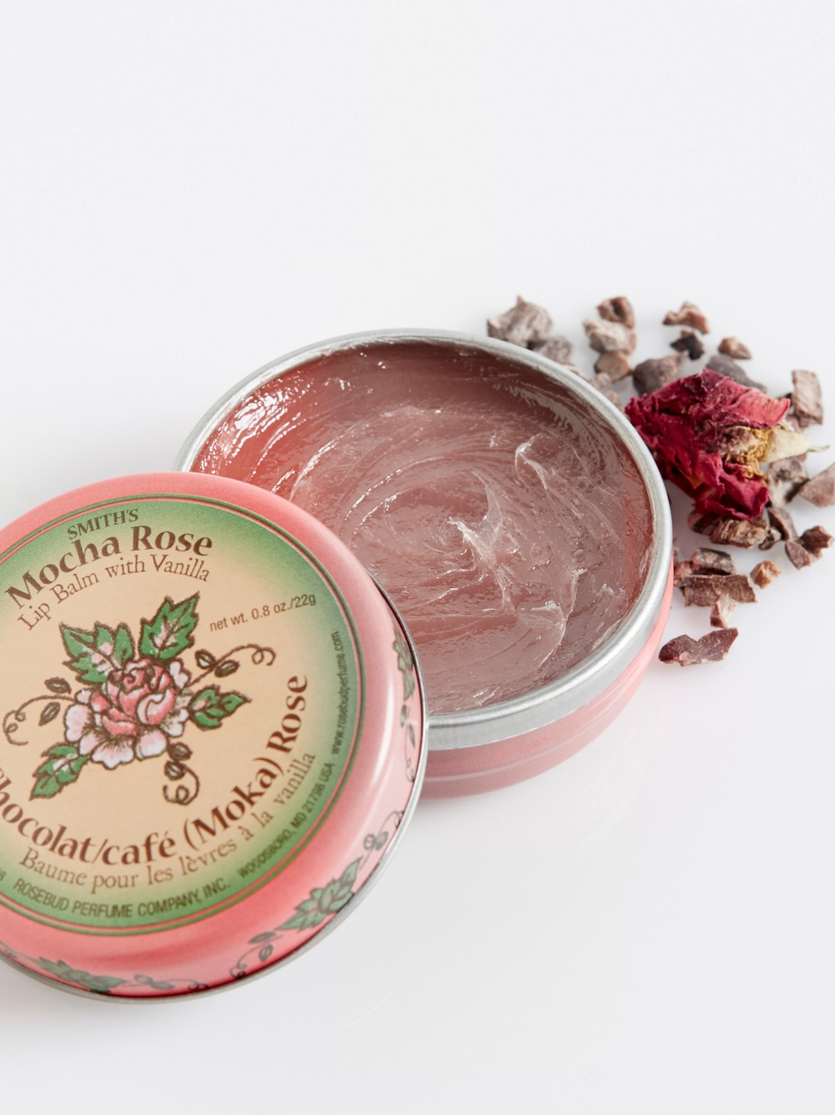 Mocha Rose Lip Balm Tin