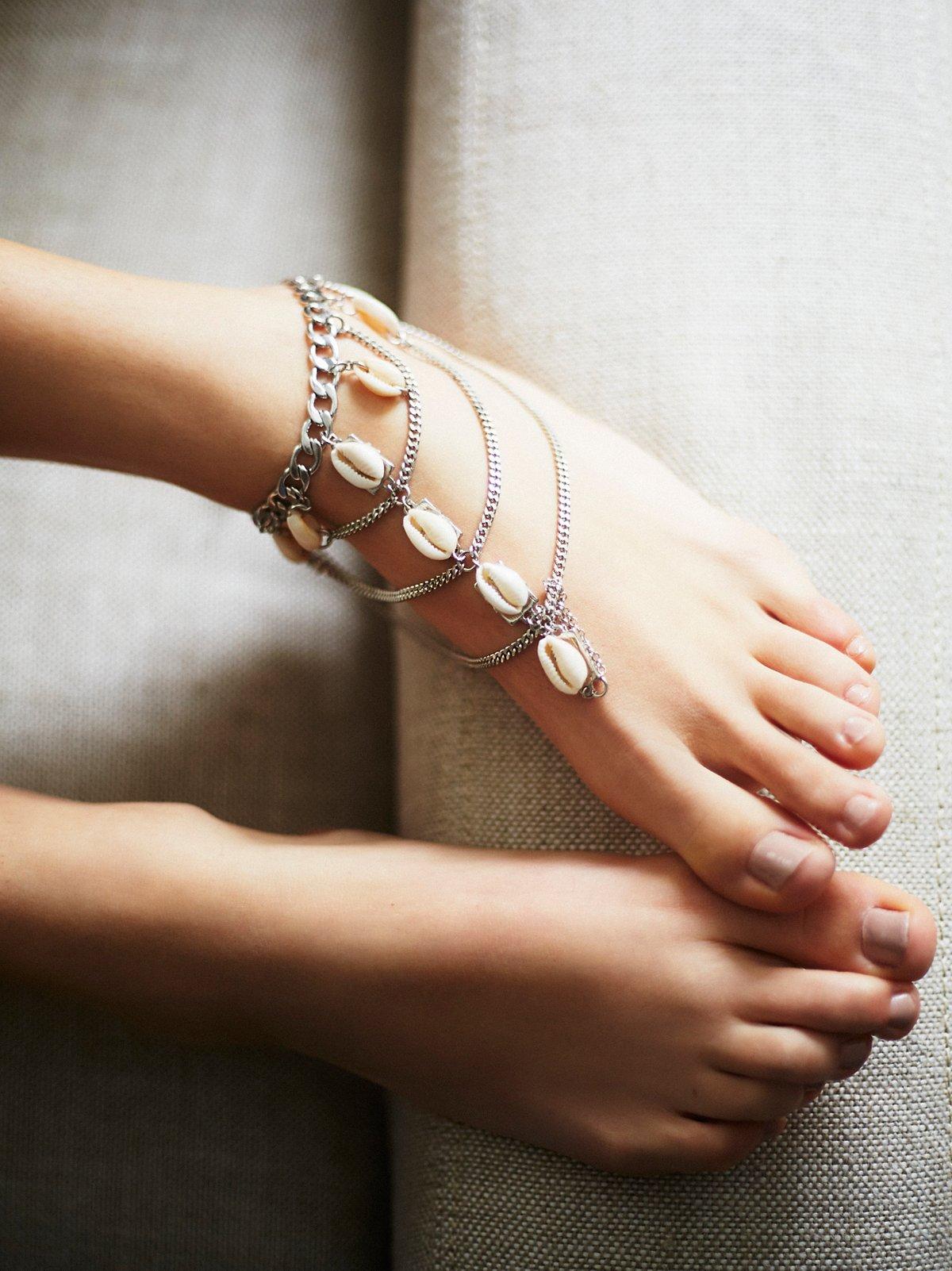 Talulah Shell Anklet