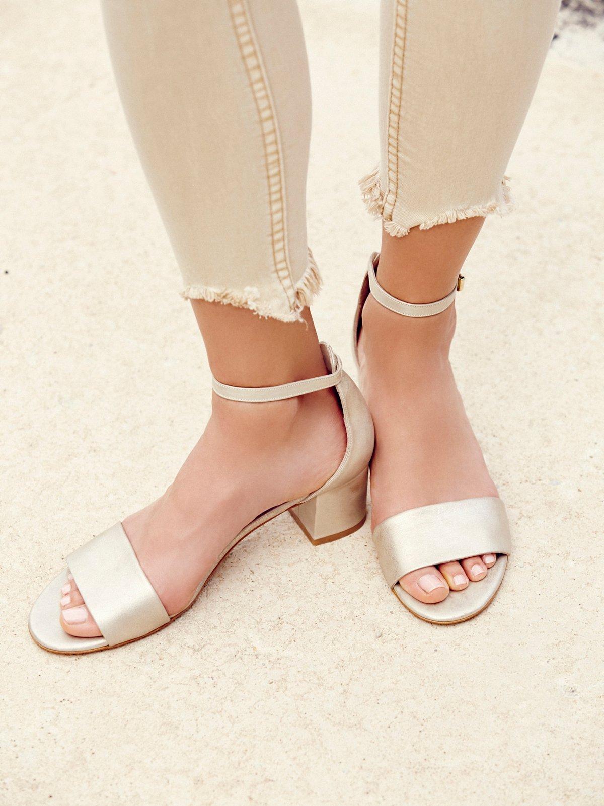 Marigold Block Heel