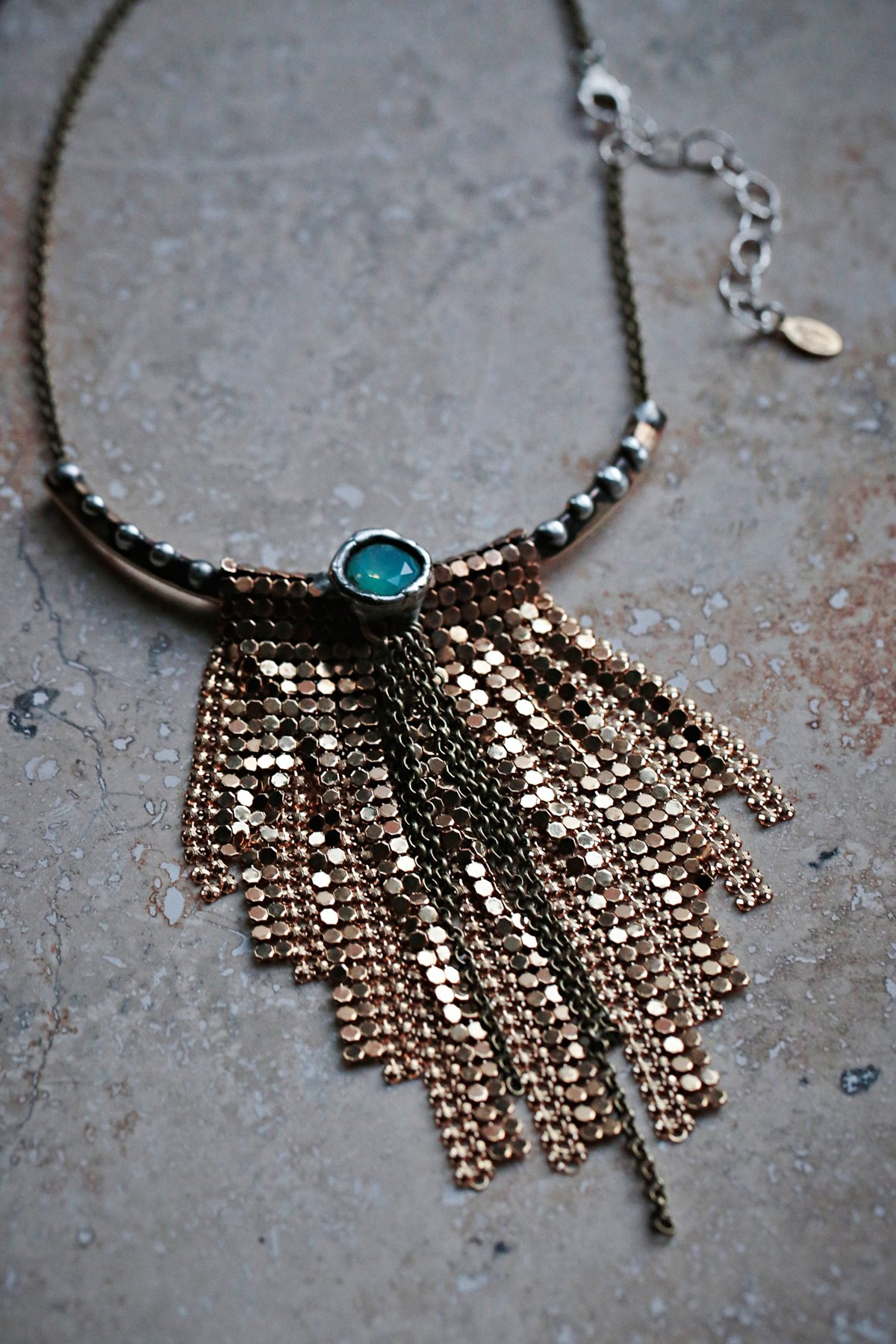 Native Rain Chainmail Necklace