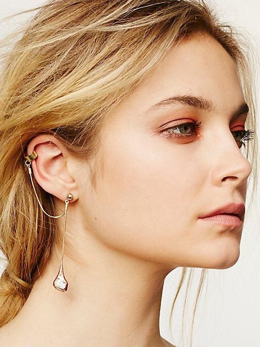 Product Image: Raw Opal Drop Ear Cuff