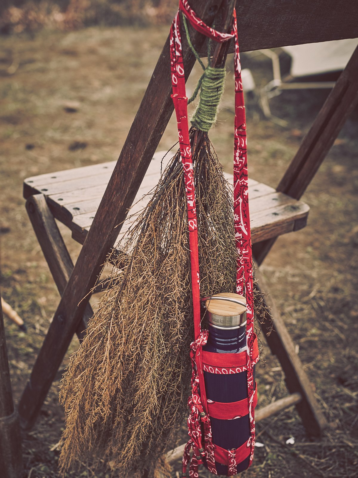 Bandana Water Bottle Holder