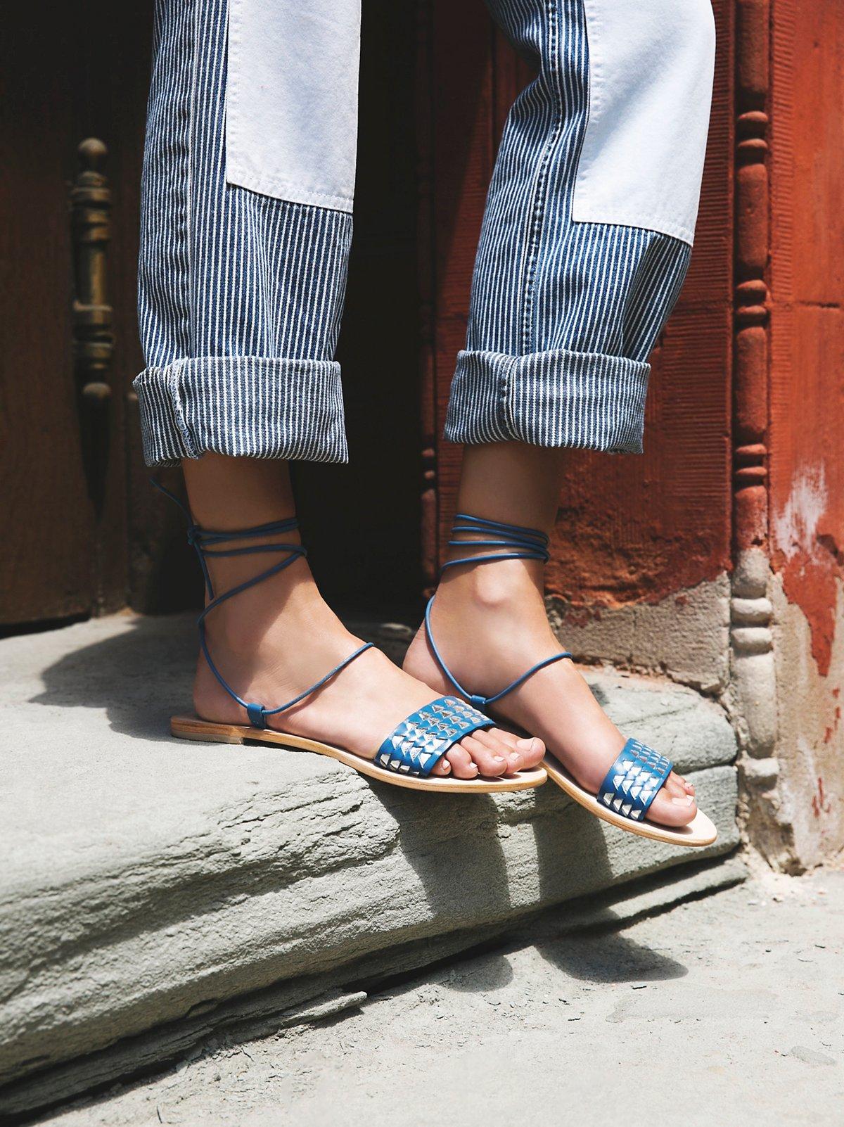 Sammie Lace-Up Sandal