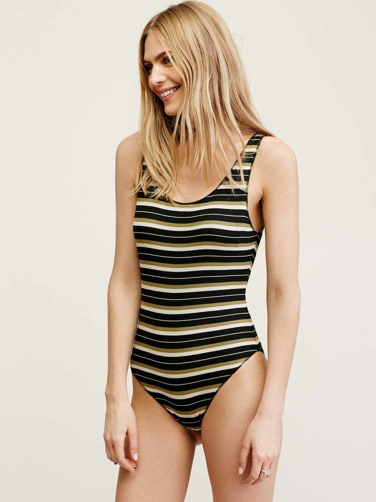 Ride or Die Stripe Bodysuit