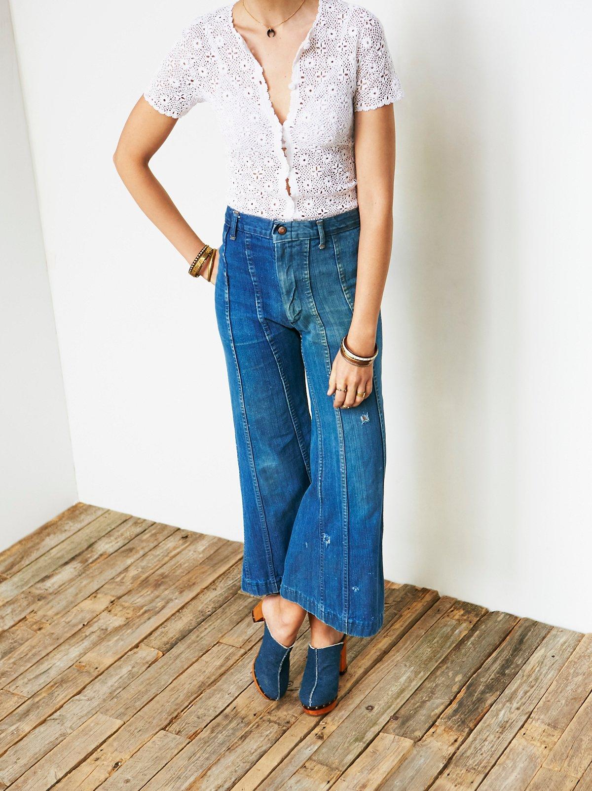 Vintage 1970s Flared Jeans