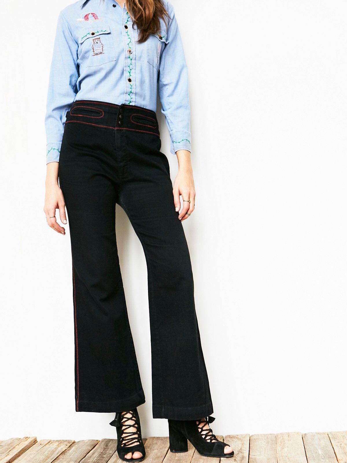 Vintage 70s Straight Leg Jean