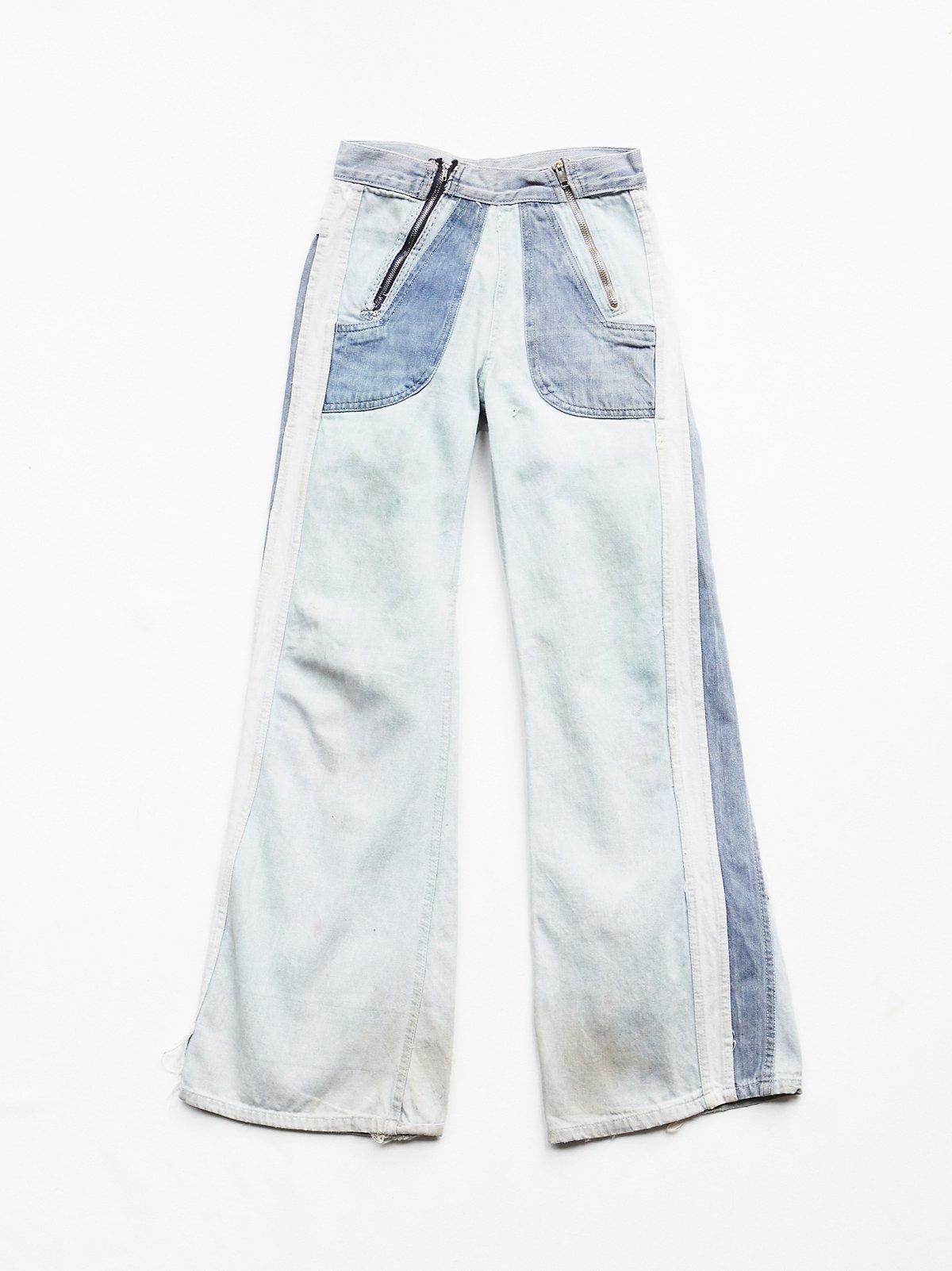 Vintage 70s Paneled Jeans