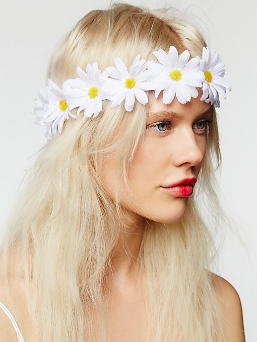 Product Image: LED Glow Daisy Crown