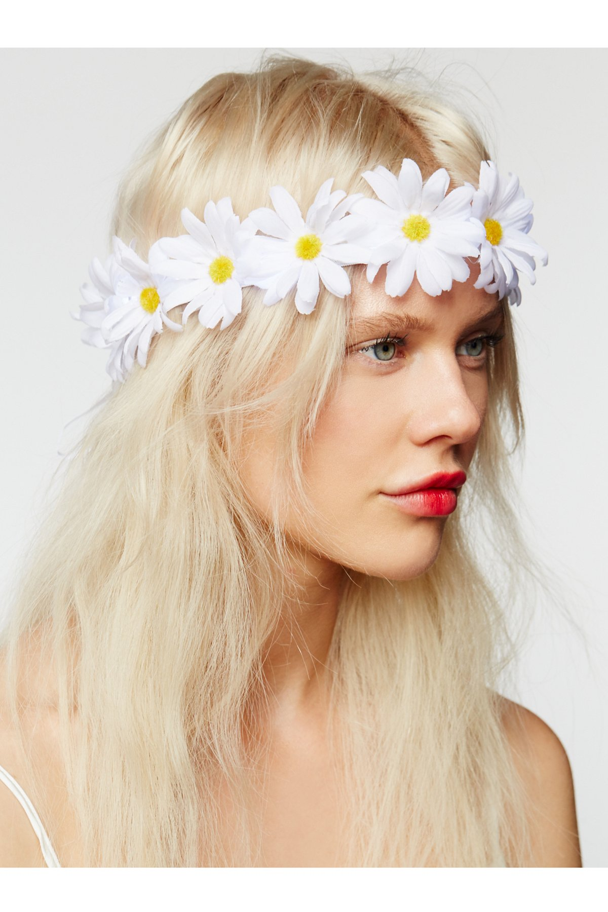 LED Glow Daisy Crown